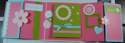 Baby book open
