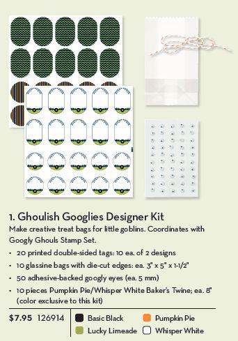 Ghoulish googlies designer kit